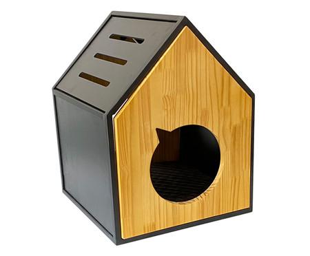 Casa para Pet em Veludo Frajola - Natural | WestwingNow