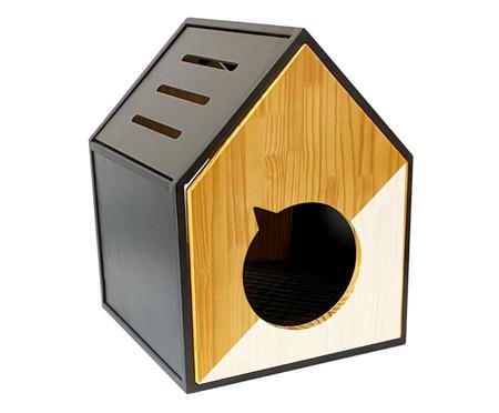 Casa para Pet em Veludo Frajola - Branca | WestwingNow