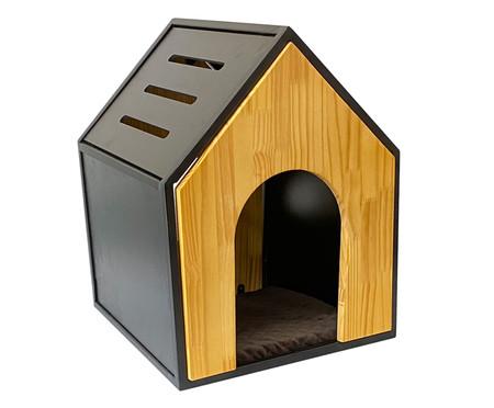 Casa para Pet em Veludo Catdog - Natural | WestwingNow