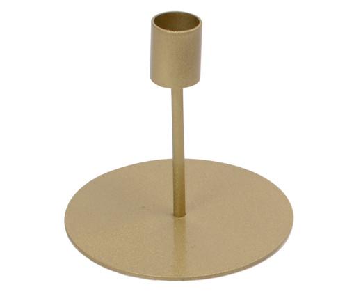 Castiçal de Ferro Bertolazzo - Dourado, Dourado | WestwingNow