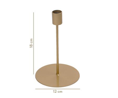 Castiçal de Ferro Bertolazzo - Dourado | WestwingNow