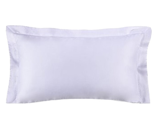 Fronha para Travesseiro King Acetinada Nobile Branca - 300 Fios, Branco | WestwingNow