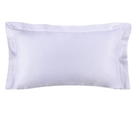 Fronha para Travesseiro King Acetinada Nobile Branca - 300 Fios | WestwingNow