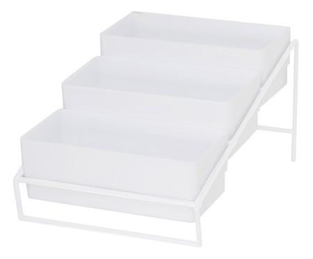 Organizador de Temperos Simple - Branco   WestwingNow