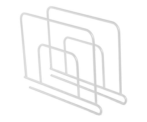 Separador de Prateleira Simple - Branco, BRANCO | WestwingNow