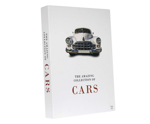 Book Box The Collection Of Car Vol 2, Branco | WestwingNow