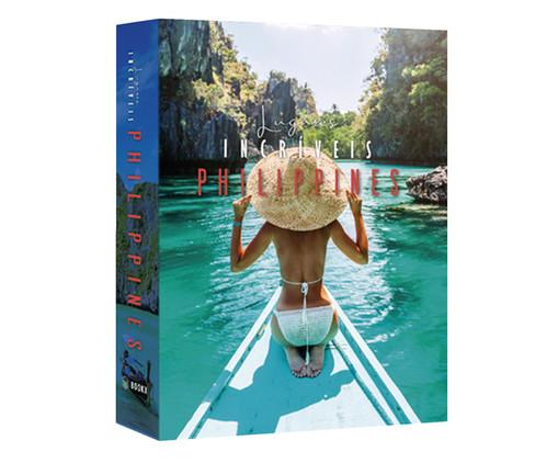 Book Box Lugares Incríveis Philippines, colorido | WestwingNow