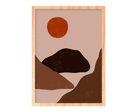 Quadro Sun And Mountain Pinus - 45,5x63cm | WestwingNow