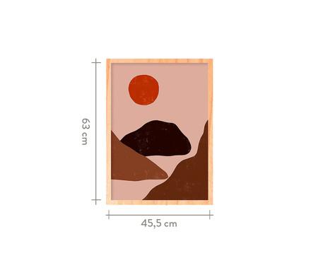 Quadro Sun And Mountain Pinus - 45,5x63cm   WestwingNow