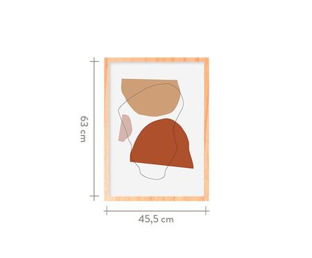 Quadro Rendez Vous Ii Pinus - 45,5x63cm | WestwingNow