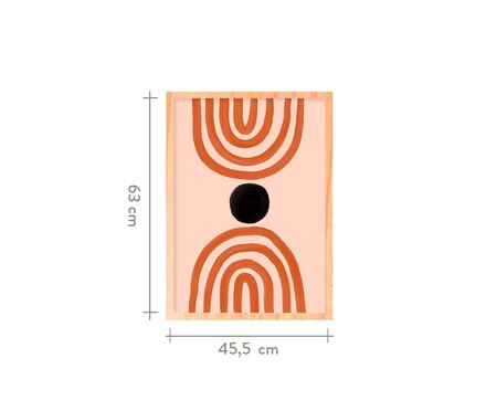 Quadro Two Opposites Pinus - 45,5x63cm | WestwingNow