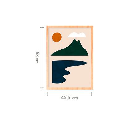 Quadro Desconstrução I Pinus - 45,5x63cm | WestwingNow