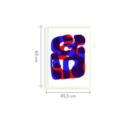 Quadro Second Trace - 45,5x63cm | WestwingNow