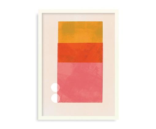 Quadro Coincidence - 45,5x63cm, Colorido | WestwingNow