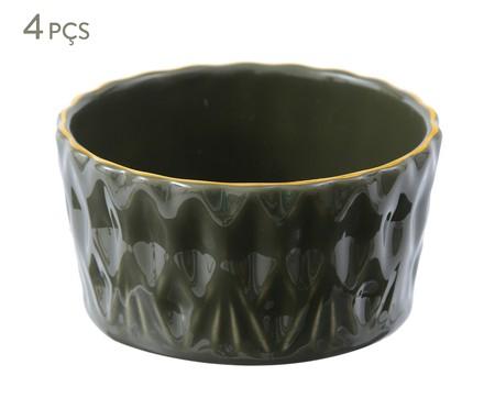 Jogo de Bowls Fractal Jade - Verde | WestwingNow