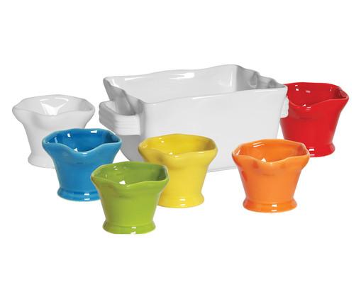 Jogo para Servir Sorvete Flakes, Colorido | WestwingNow