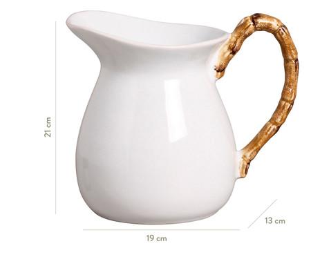 Jarra em Cerâmica Elo Bam 1,6 L - Branca | WestwingNow