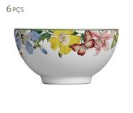 Jogo de Bowls em Cerâmica Papillon - Colorido   WestwingNow