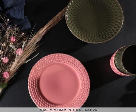 Jogo de Pratos para Sobremesa Escama Colors - 04 Pessoas | WestwingNow