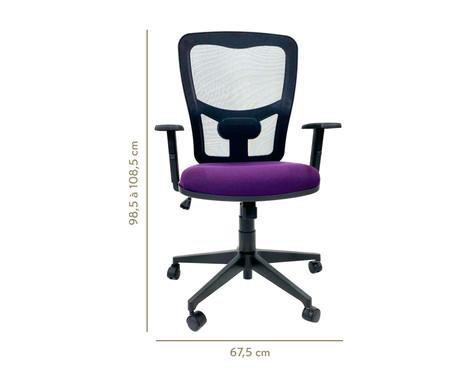 Cadeira de Escritório Porim - Púrpura | WestwingNow