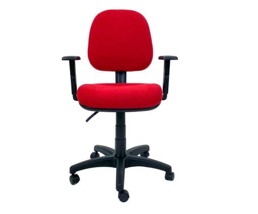 Cadeira de Escritório Vrotz - Vermelha, Preto | WestwingNow
