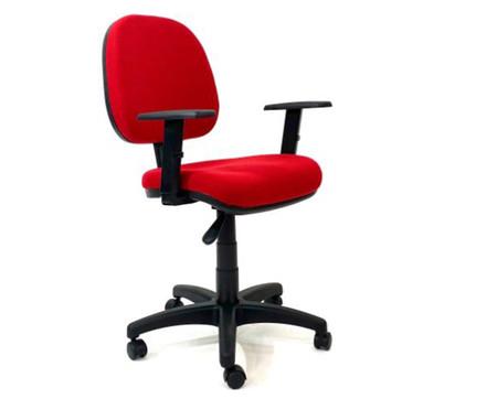 Cadeira de Escritório Vrotz - Vermelha | WestwingNow