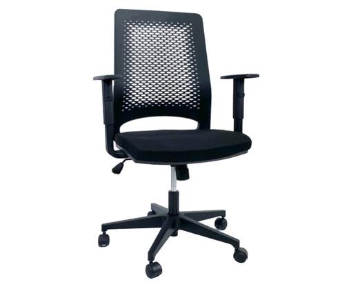 Cadeira de Escritório Ease - Preta, Preto | WestwingNow