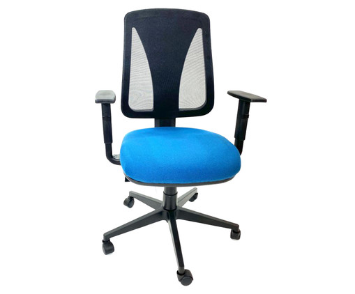 Cadeira de Escritório Fuanti - Azul, Preto | WestwingNow