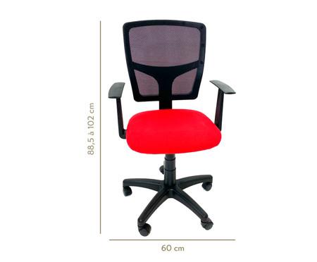 Cadeira de Escritório Vienart - Vermelha | WestwingNow