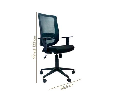 Cadeira de Escritório Vizzonta - Preto | WestwingNow