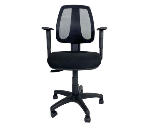 Cadeira de Escritório Wertiz - Preta, Preto | WestwingNow