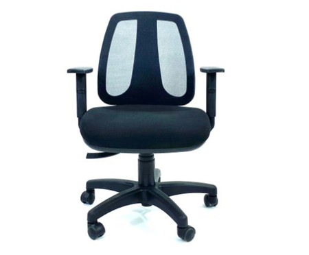 Cadeira de Escritório Wertiz - Preto | WestwingNow