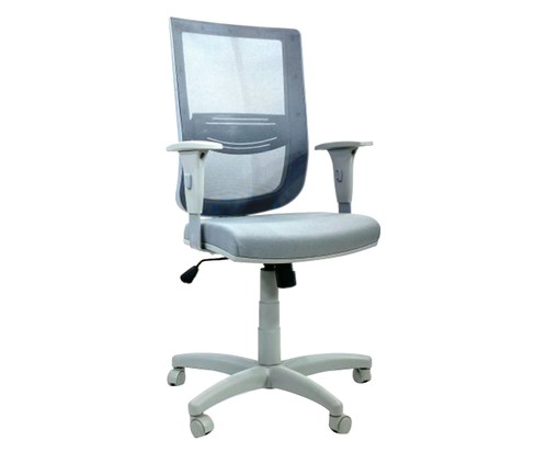 Cadeira de Escritório Vizzonta - Cinza, Preto | WestwingNow