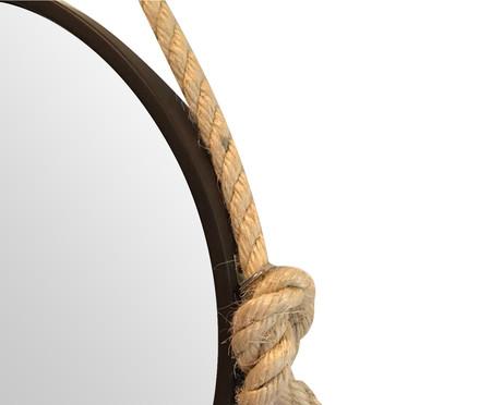 Espelho com Alça Adnet Liz - Marrom | WestwingNow
