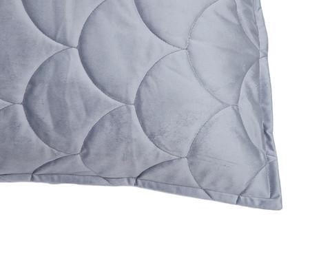Porta Travesseiro em Veludo Escama - Cinza | WestwingNow