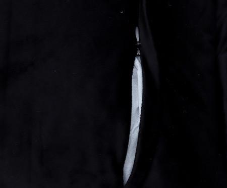 Almofada em Veludo Solid Quad - Preto | WestwingNow