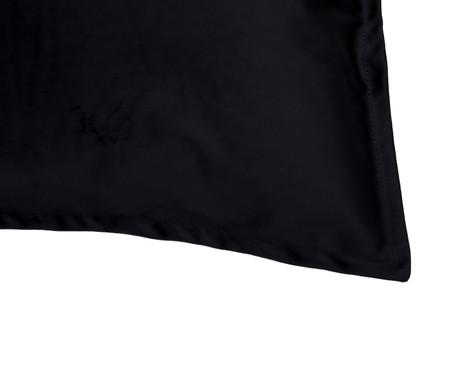 Porta-Travesseiro em Veludo Solid - Preto | WestwingNow