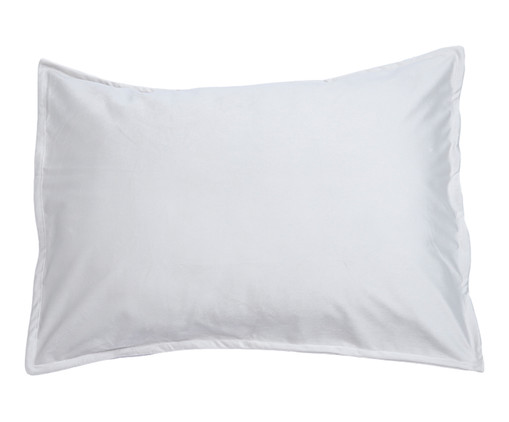 Porta-Travesseiro em Veludo Solid - Gelo, Gelo   WestwingNow