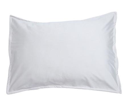 Porta-Travesseiro em Veludo Solid - Gelo | WestwingNow