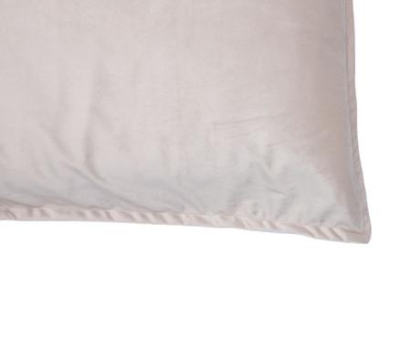 Porta-Travesseiro em Veludo Solid - Bege | WestwingNow