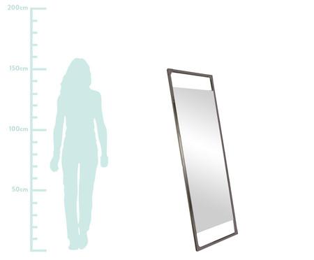 Espelho de Chão Retrô Industrial - Preto Fosco | WestwingNow