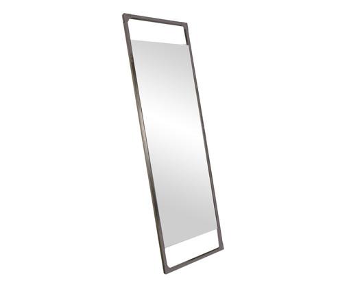 Espelho de Chão Retrô Industrial - Preto Fosco, Preto, Espelhado | WestwingNow