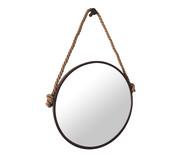 Espelho com Alça Adnet Rope - Marrom | WestwingNow