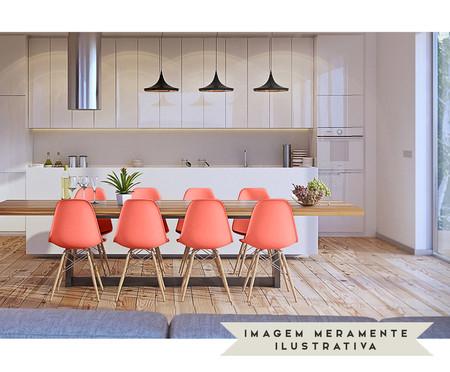 Assento para Cadeira Eames - Coral | WestwingNow