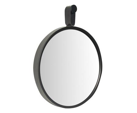 Espelho com Alça Round Effeil - Preto | WestwingNow