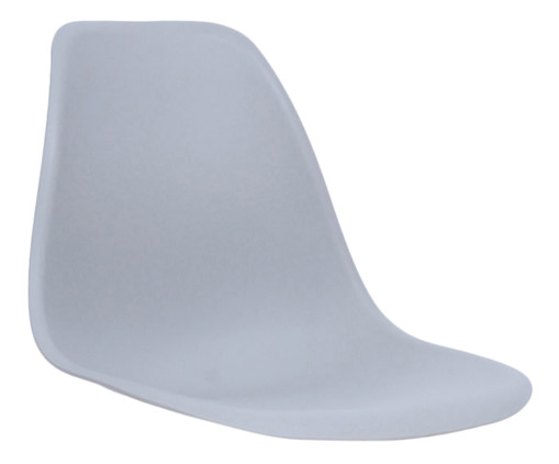 Assento para Cadeira Eames - Cinza Concreto, multicolor | WestwingNow
