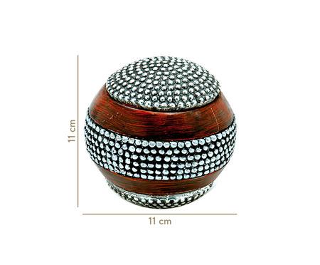 Esfera Decorativa Levi - Preto | WestwingNow