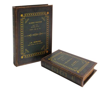 Jogo de Book Boxes Harry Potter | WestwingNow