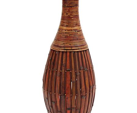 Vaso de Piso em Bambu Fruma - Marrom | WestwingNow