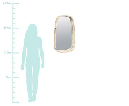 Espelho de Parede em Bambu Pakari - 43X75,5cm   WestwingNow
